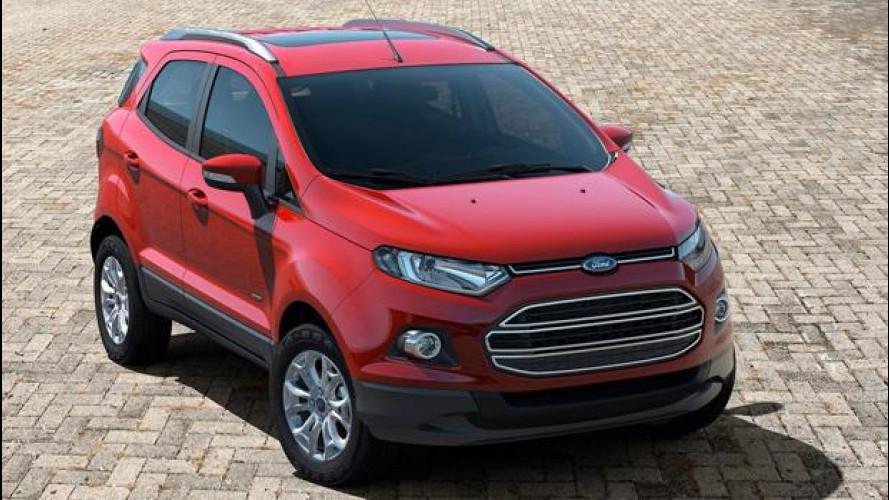 Ford EcoSport, Edge e Mustang arriveranno in Europa