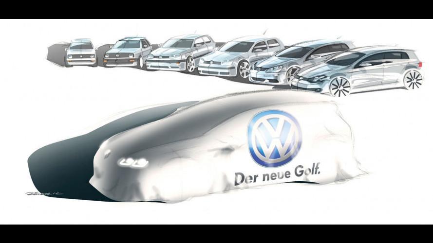 Volkswagen Golf 7: possibile debutto con la Merkel