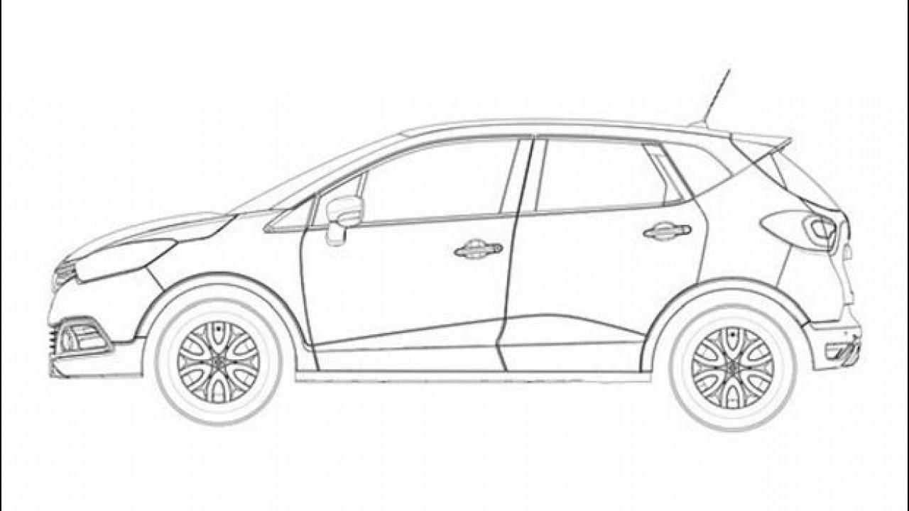 [Copertina] - Renault Captur: i primi disegni