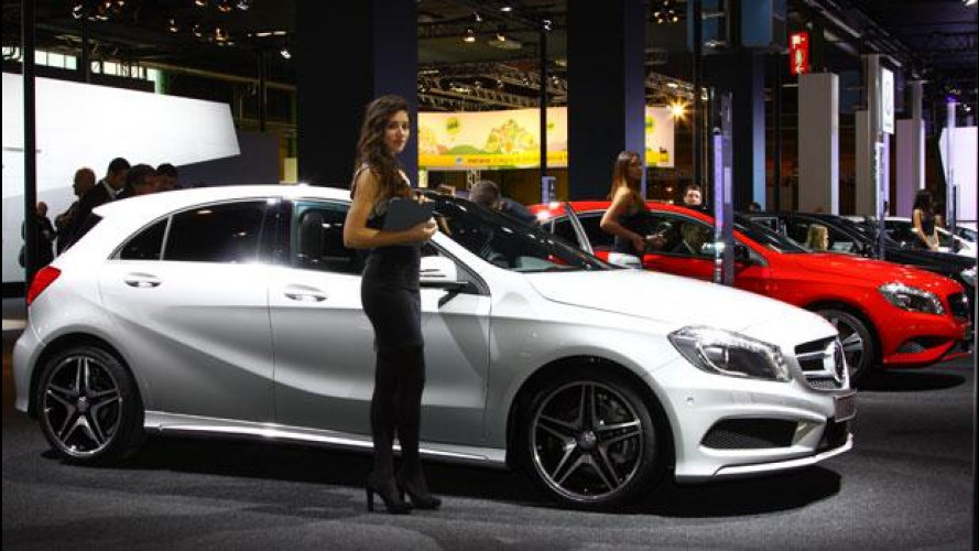 Motor Show: 25 Mercedes Classe A e 5 smart fortwo vendute