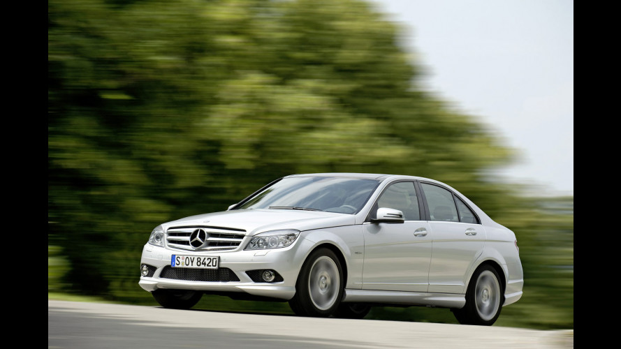 A Parigi: Mercedes C 250 CDI BlueEFFICIENCY Prime Edition