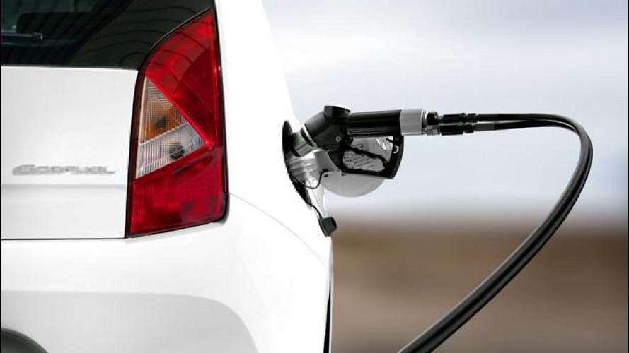 Auto a metano: oltre 100 euro risparmiati sull'acquisto del carburante