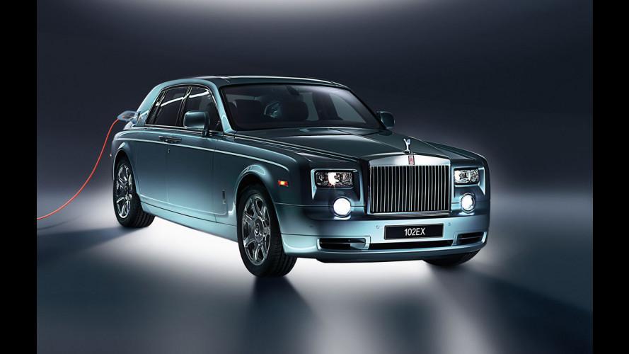La Rolls-Royce 102EX è sotto esame