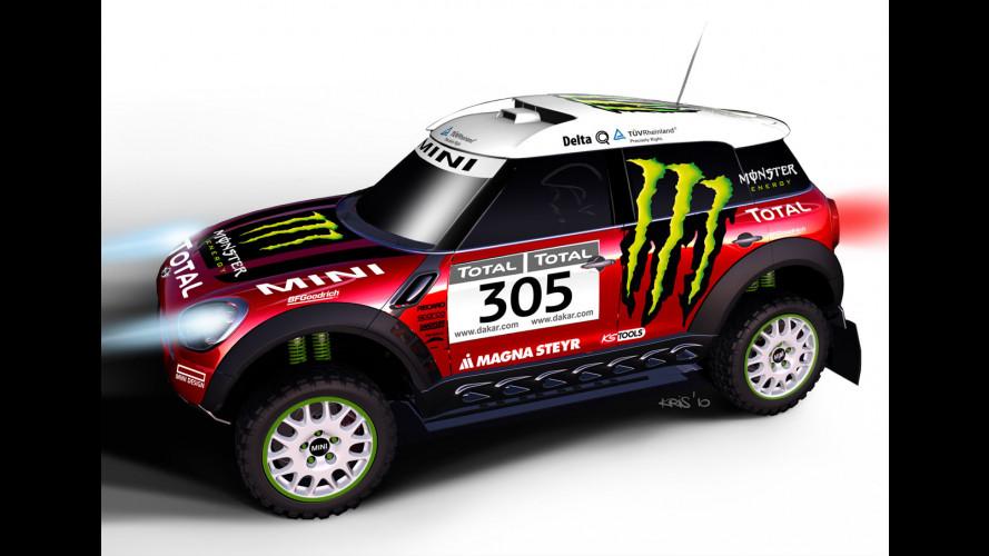 MINI ALL4 Racing, la Countryman per la Dakar 2011