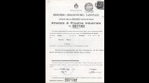 1928 - Brevetto Carello, dispositivo per fari elettrici