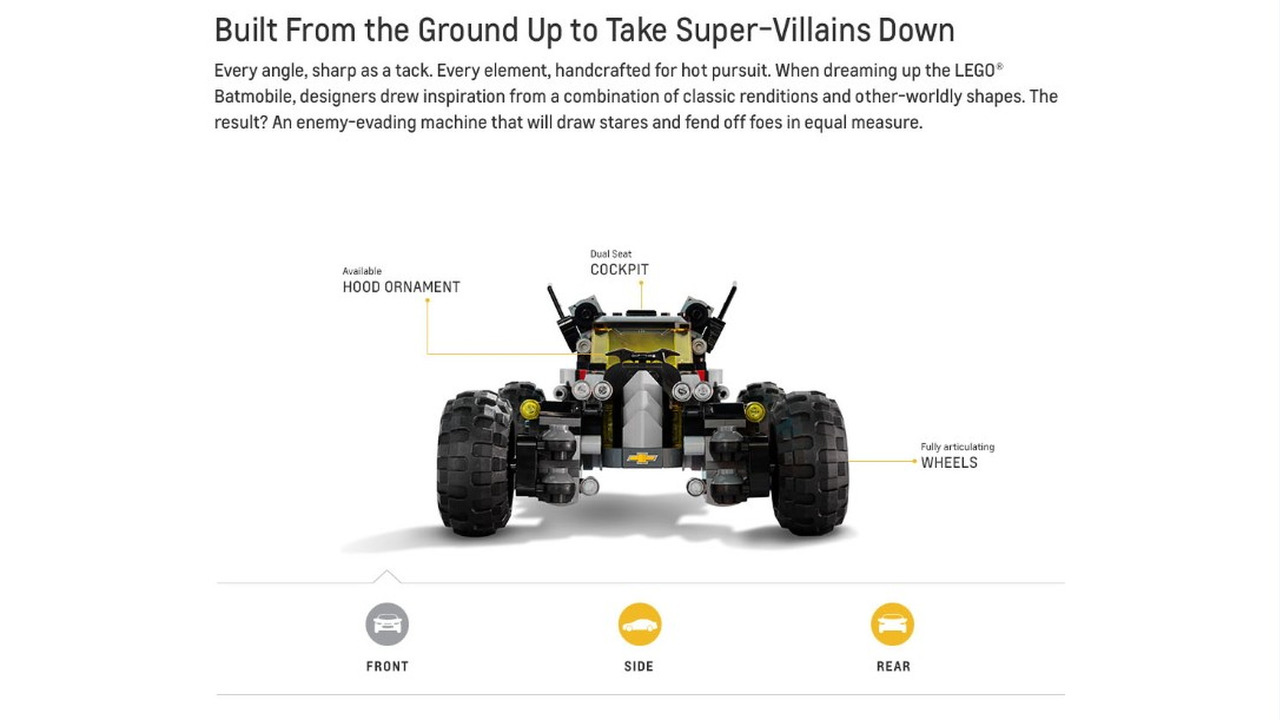 Lego Gerçek Boyutlu Batmobile