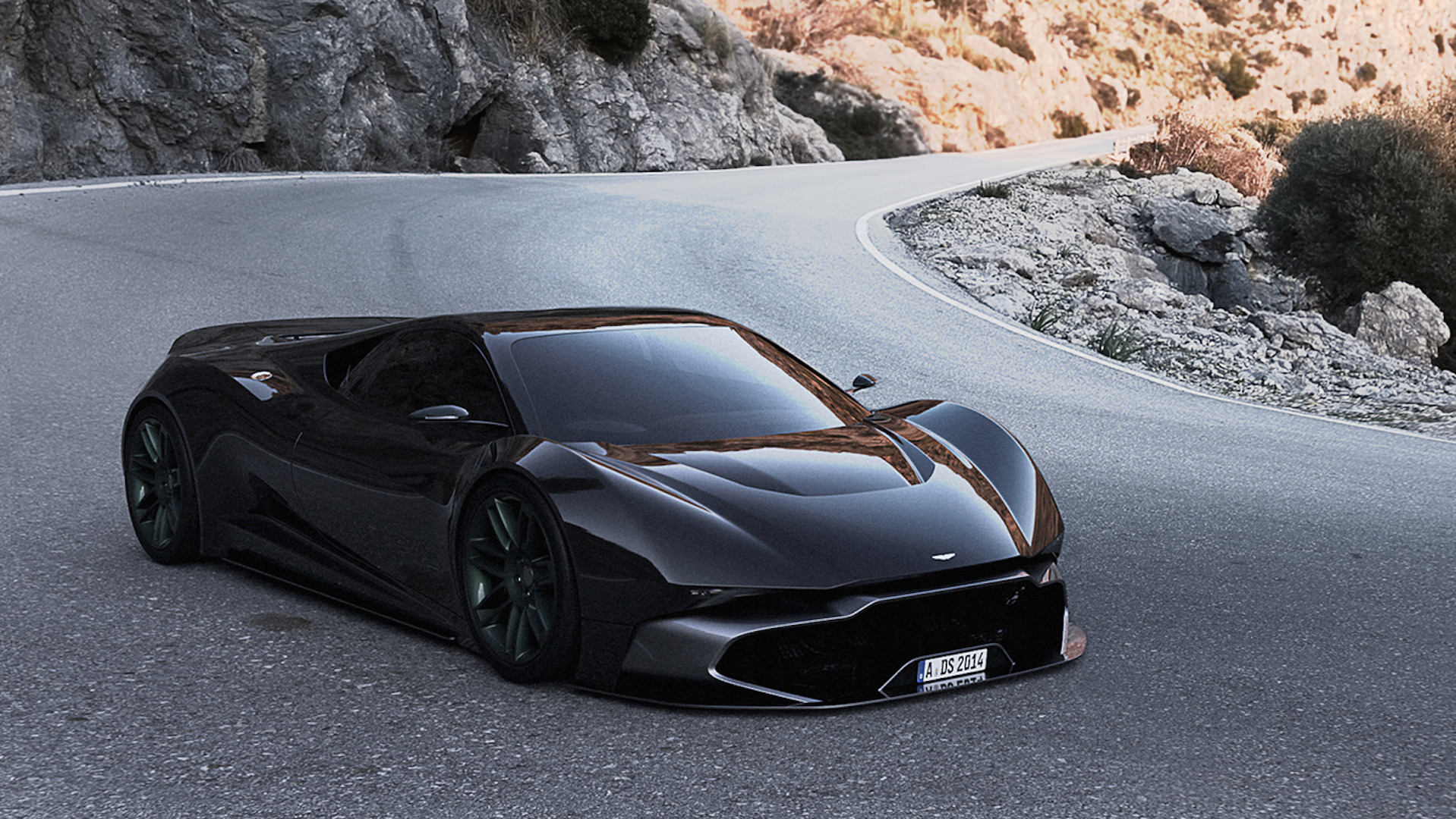 Aston Martin RR Concept Is A Stunning Supercar Proposal - Aston martin concept