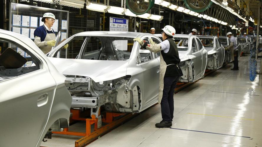 GM inicia terceiro turno na fábrica que produz Onix e Prisma