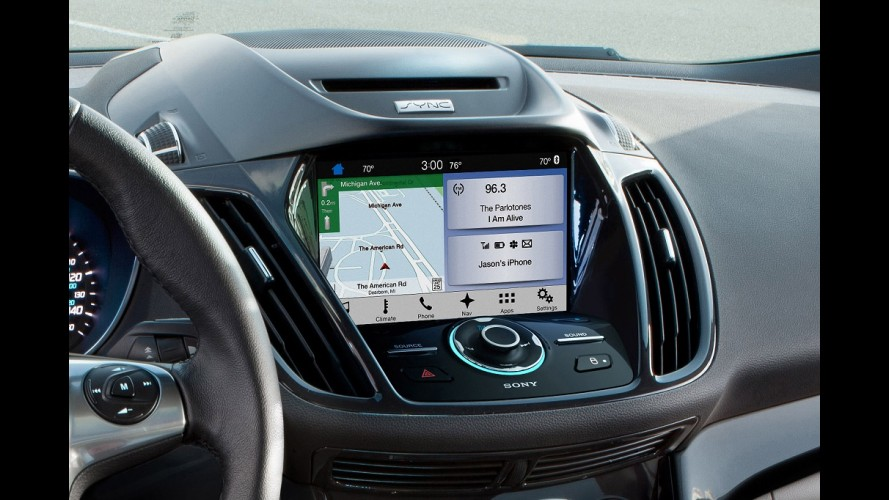 New Fiesta estreia SYNC 3 que terá Android Auto e Apple CarPlay nos EUA