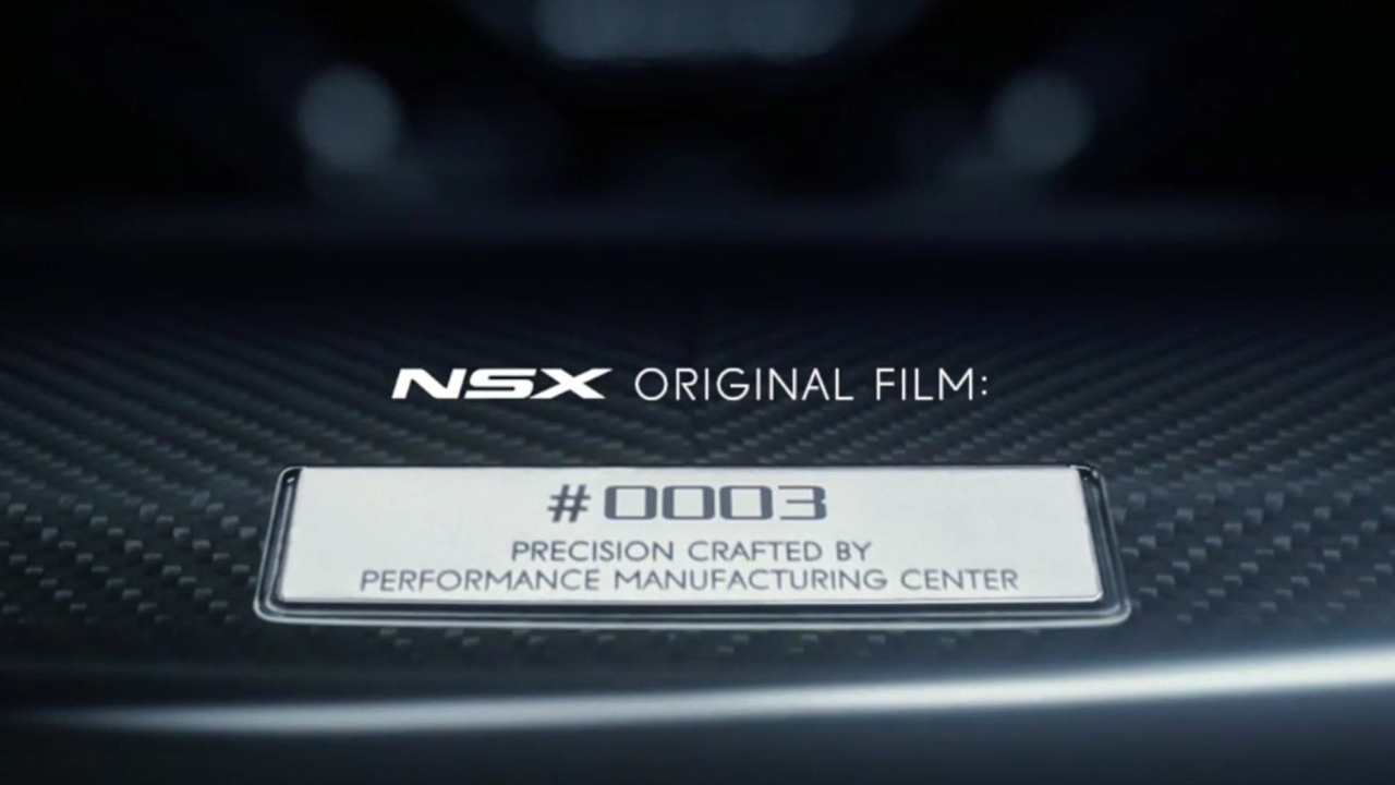 Acura NSX Originals Program