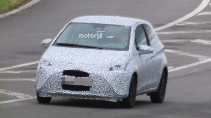 Next-gen Toyota Yaris test mule spied for the first time
