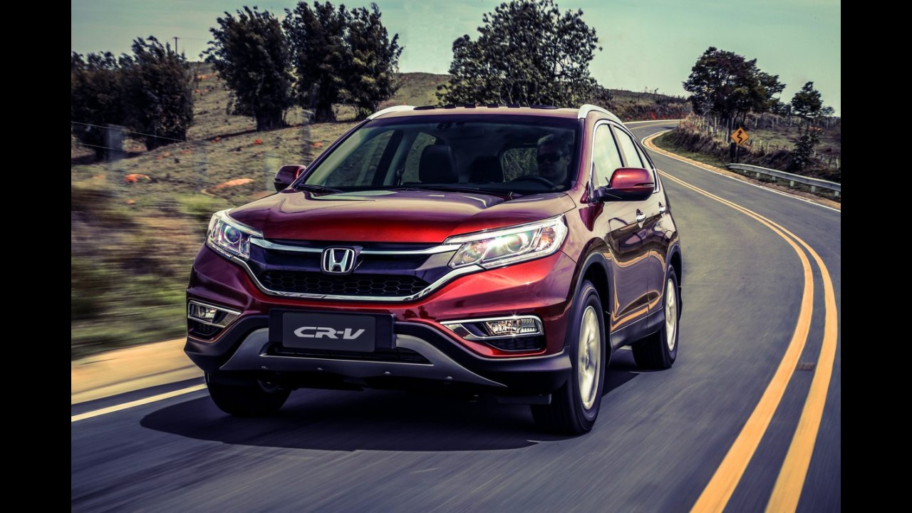 Reestilizado, Honda CR-V 2015 chega apenas na versão de topo por R$ 134,9 mil