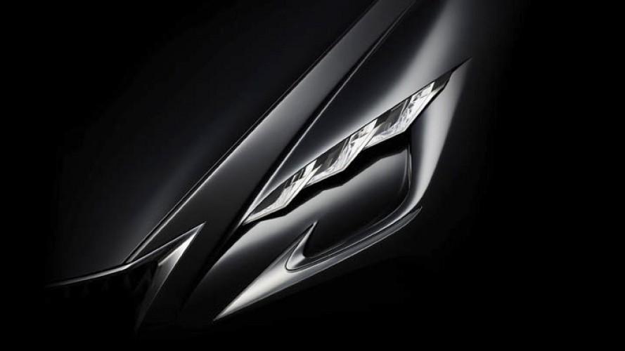 Lexus libera teaser de misterioso modelo; seria a próxima geração do LS?