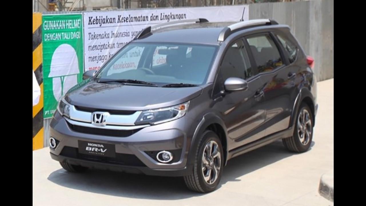 Veja a primeira foto do Honda BR-V em versão de produção