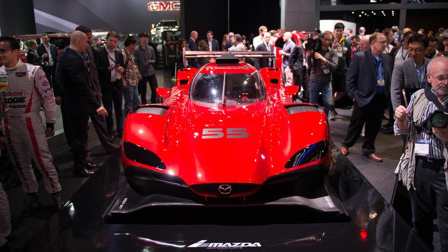 Mazda RT24-P prototipi yarışmaya hazır görünüyor