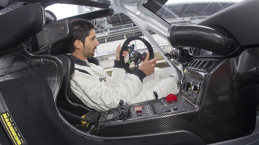 Mercedes-Benz SLS AMG GT3 race car