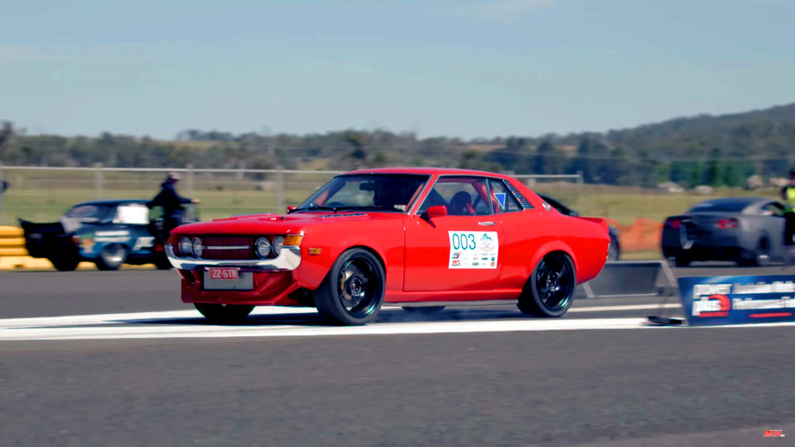 1,000 bg'lik pist canavarı 1971 Toyota Celica'da yok yok