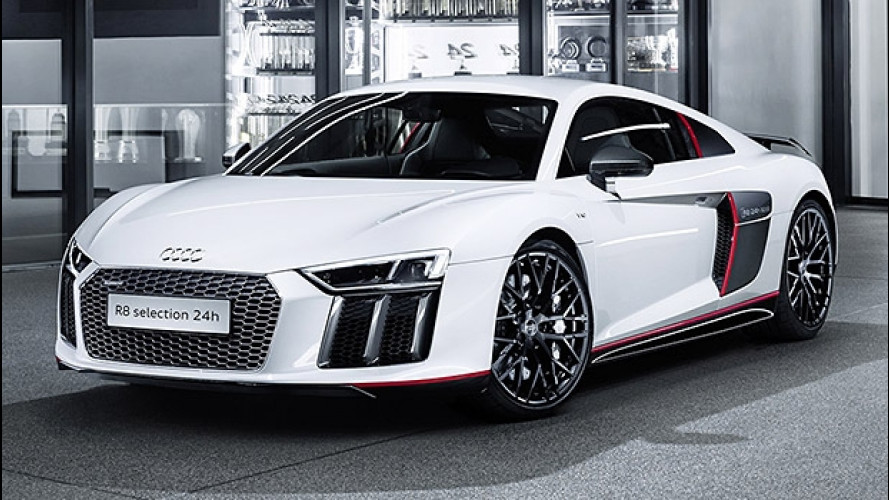 "Audi R8 V10 plus ""selection 24h"", stile da corsa"