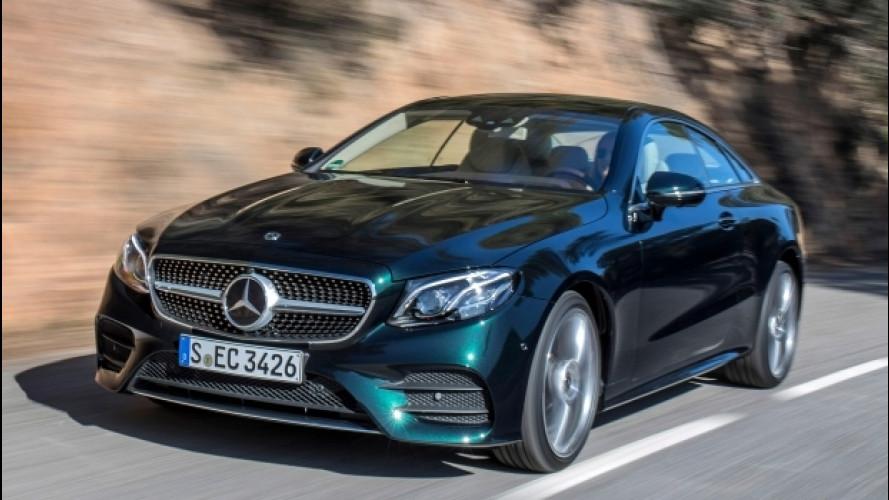 Mercedes Classe E Coupé, la stella che fa primavera