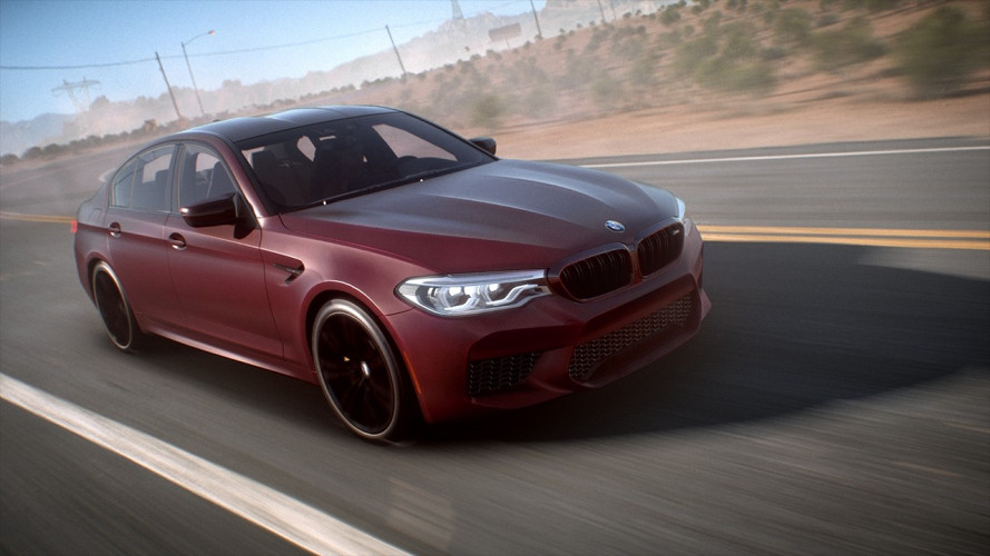 """Nuova BMW M5, debutto """"virtuale"""" su Need for Speed Payback [VIDEO]"""
