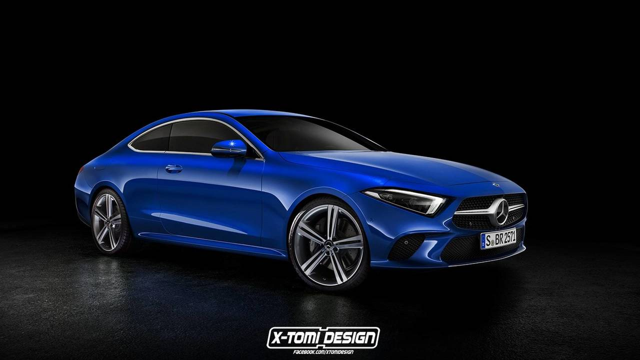 Mercedes Benz Cls Klasse Coupe Rendering Motor1 Com Photos