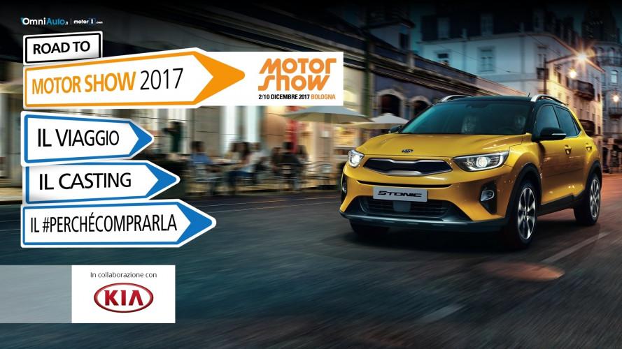 Road to Motor Show, insieme da Roma a Bologna!