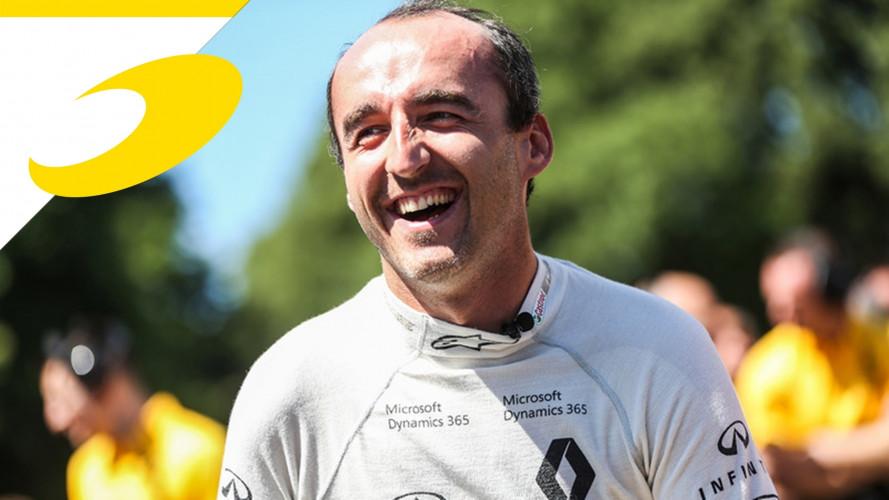 Kubica è pronto per i test Renault F1 in Ungheria