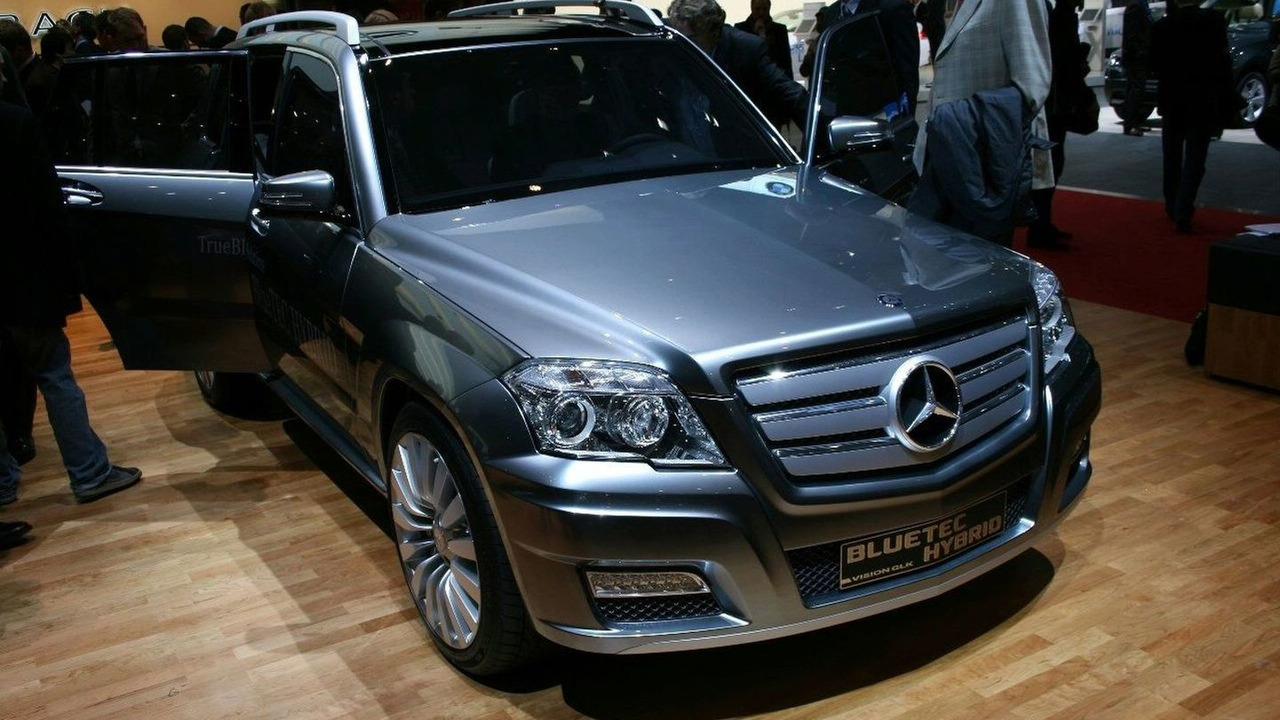 Mercedes Benz Vision Glk Bluetec Hybrid