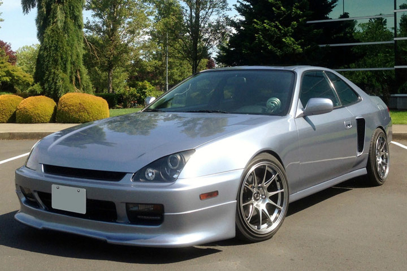 Surprise! This Honda Prelude Has Two Engines and 400 Horsepower