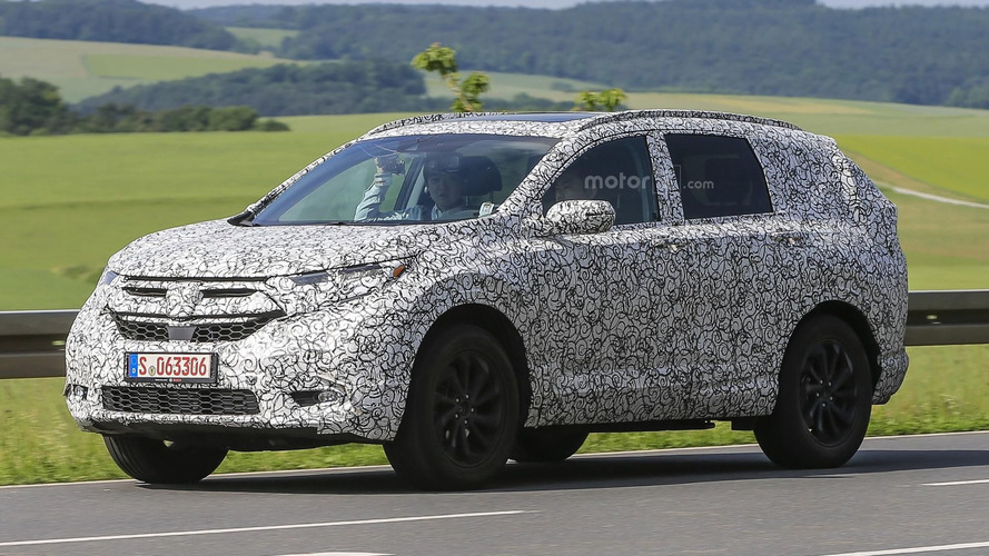 Next Honda CR-V caught testing in Germany
