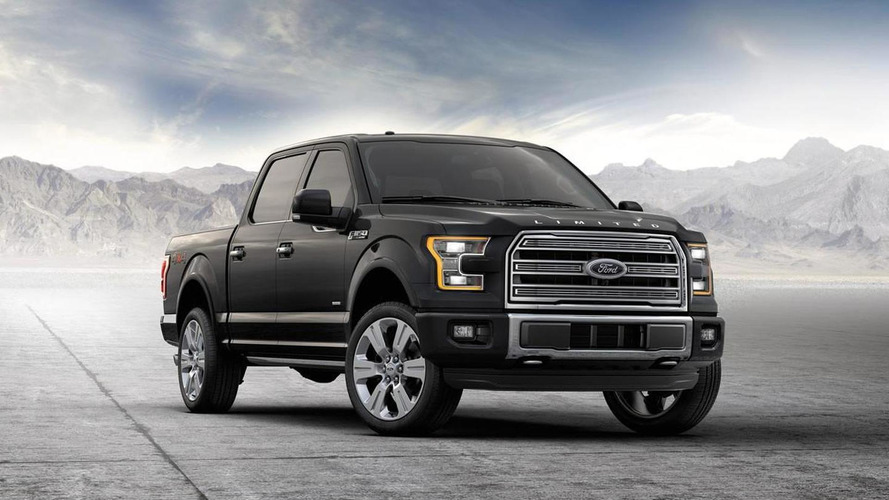 2016 Ford F-150 Limited Announced As Most Luxurious F-150 Ever