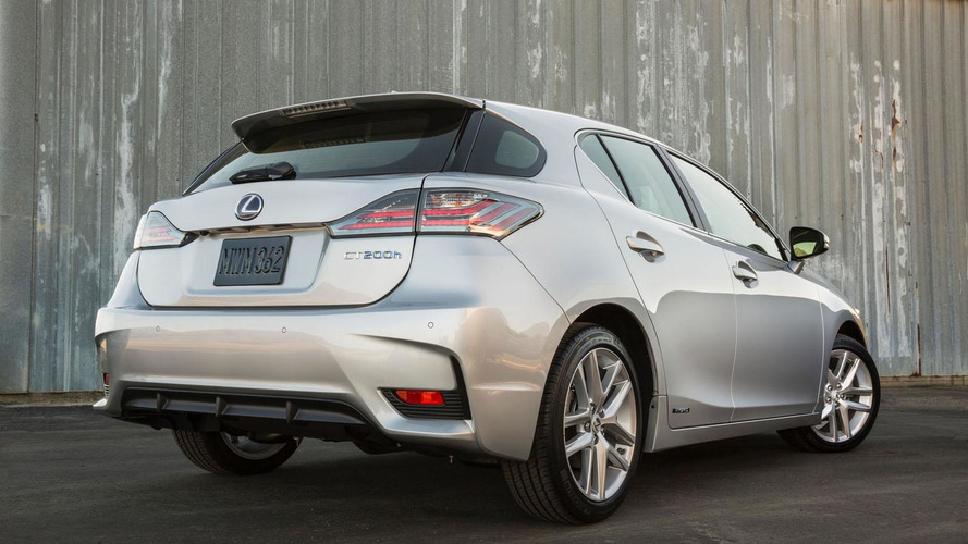 2016 Lexus CT 200h unveiled with minor updates