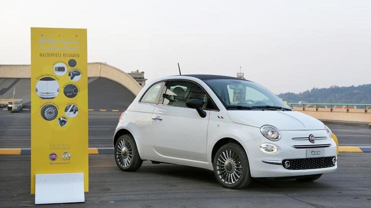 Fiat 500 facelift by Mopar