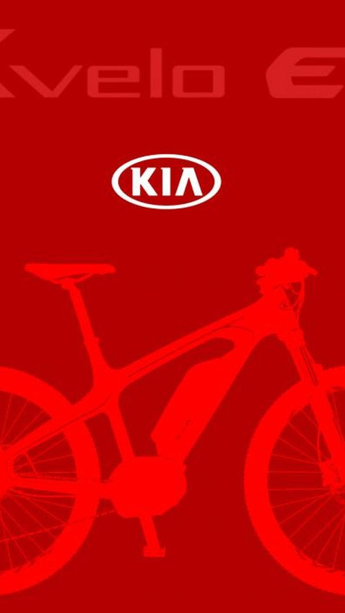 Kia K-velo electric bike teaser