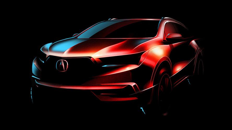 2017 Acura MDX teased for New York