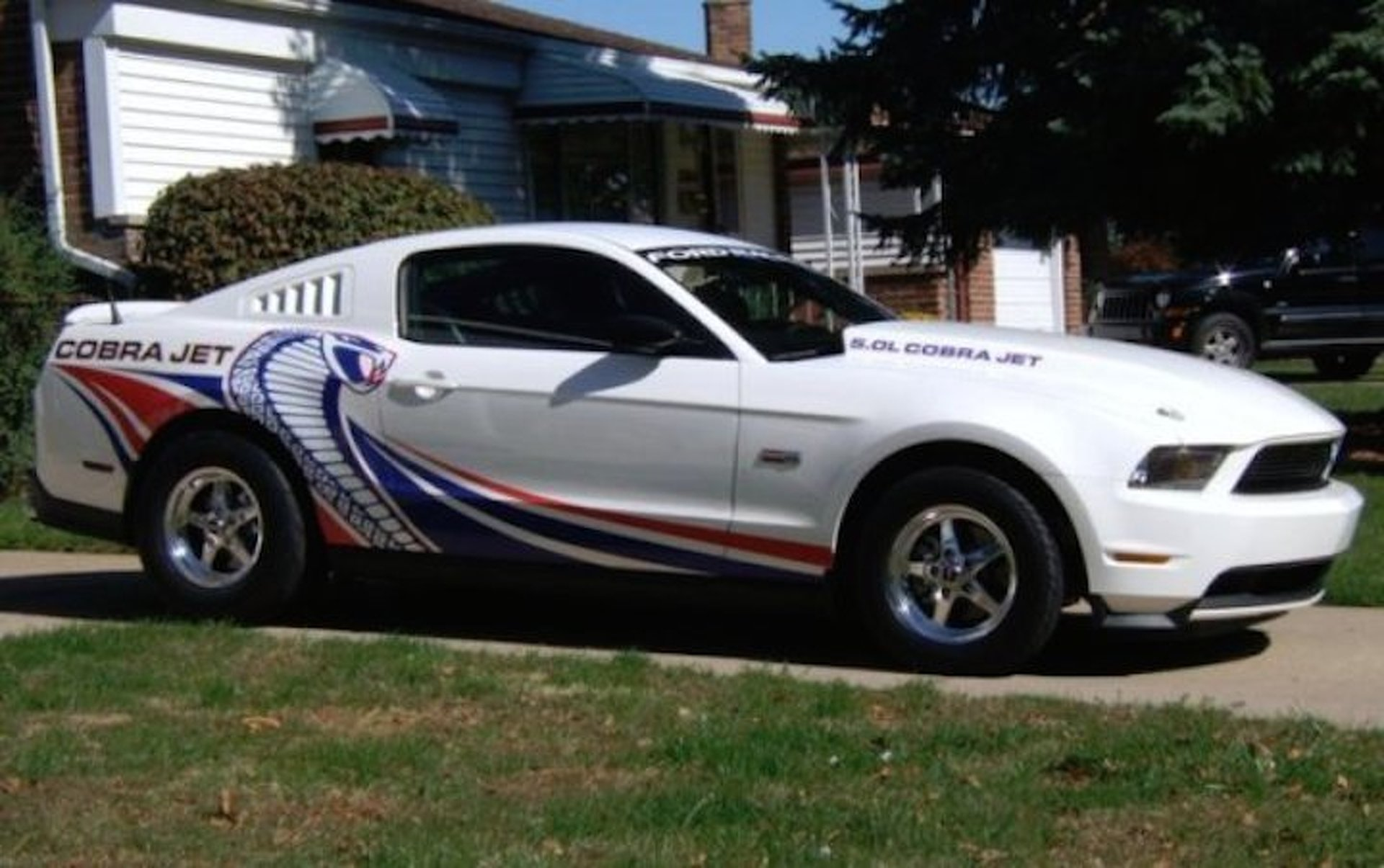 Street legal ford mustang cobra jet will fulfill your drag racing dreams for sale