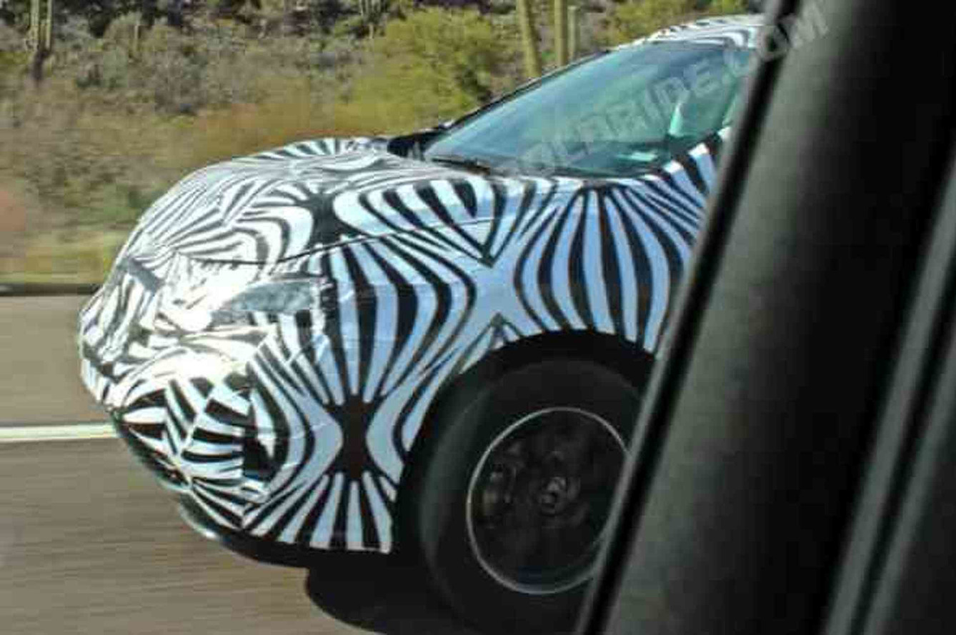 Update: Spied CUV Likely Next Nissan Murano, Not a Chevy