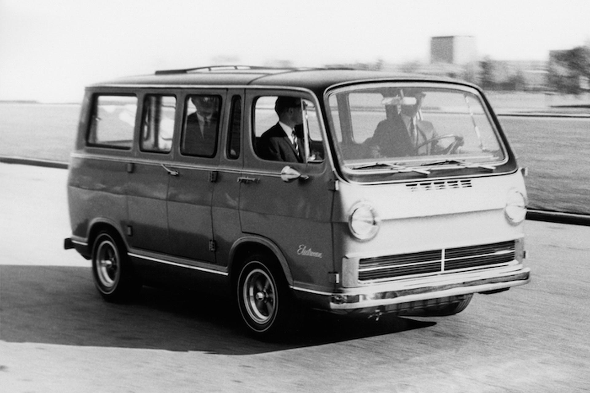 Weird Car of the Week: GM's Hydrogen-Powered Handi-van