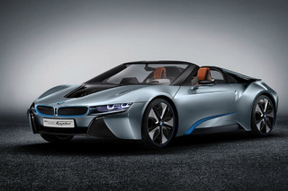 Yeni BMW i8 Spyder konsepti CES'e geliyor