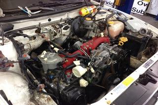 This Crazy Subaru Legacy Off-Roader Sports an STI Engine