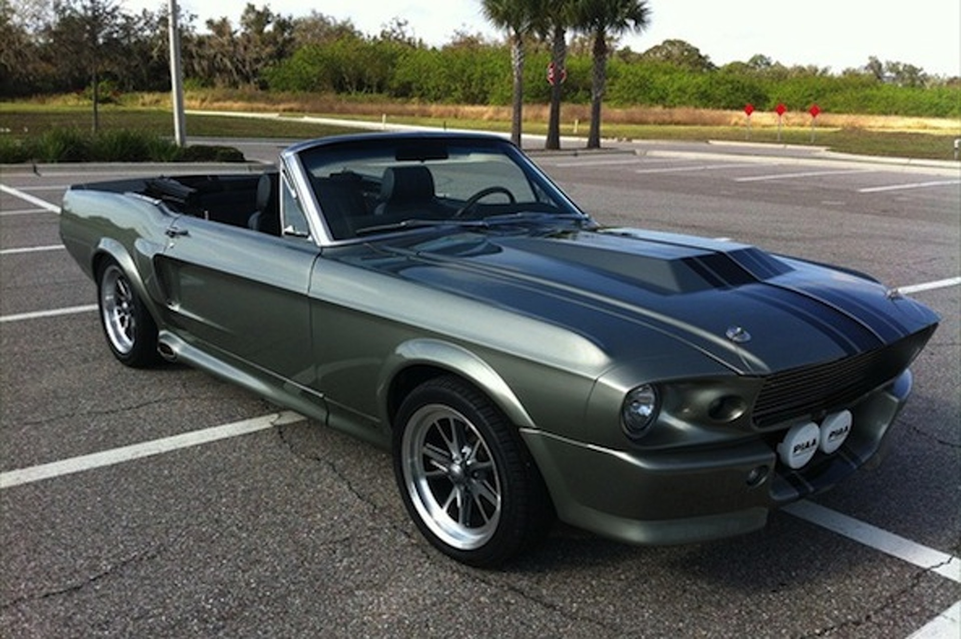 Ebay car of the week 1968 ford mustang gt350 eleanor convertible
