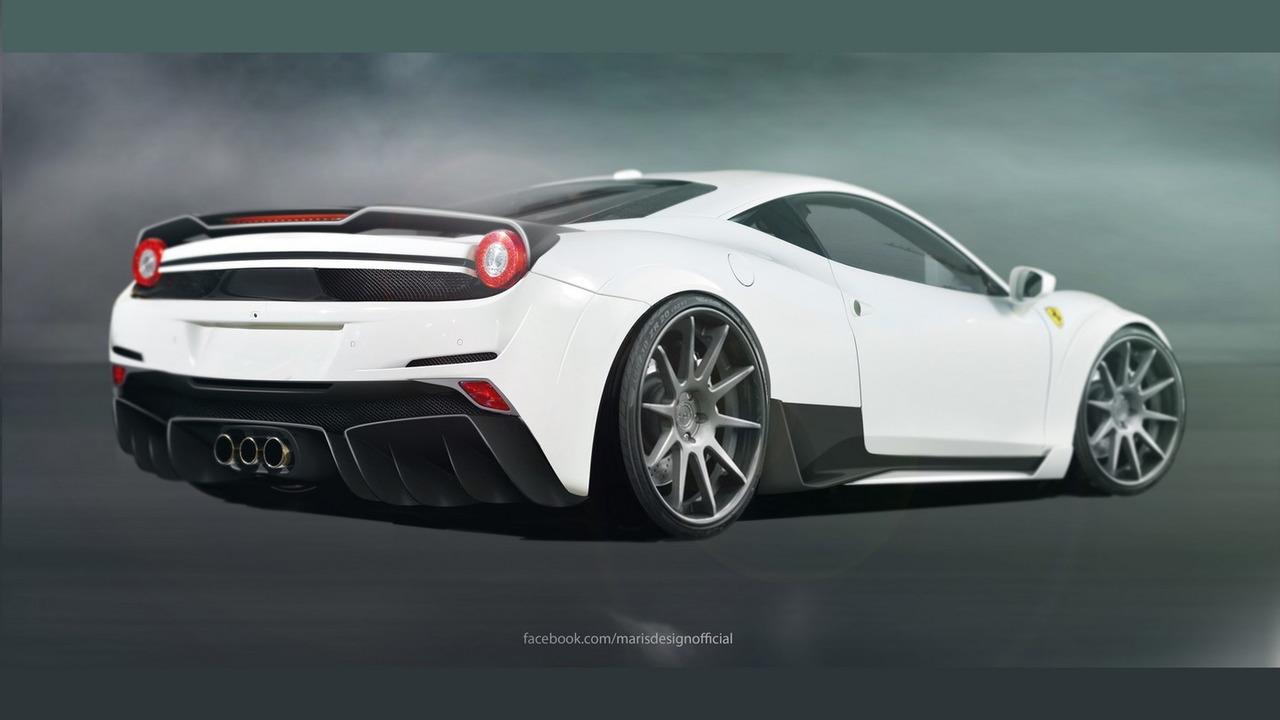 Ferrari 458 Italia by Atarius Concept