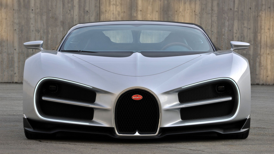 The Bugatti Chiron was originally supposed to look like this