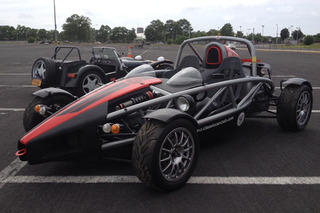 A Blistering Ride in a Caterham with the Classic Car Club Manhattan