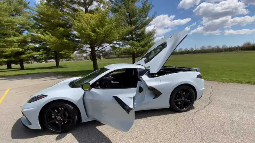 2020 Corvette Storage Test: How Much Cargo Fits With The Top Stowed?