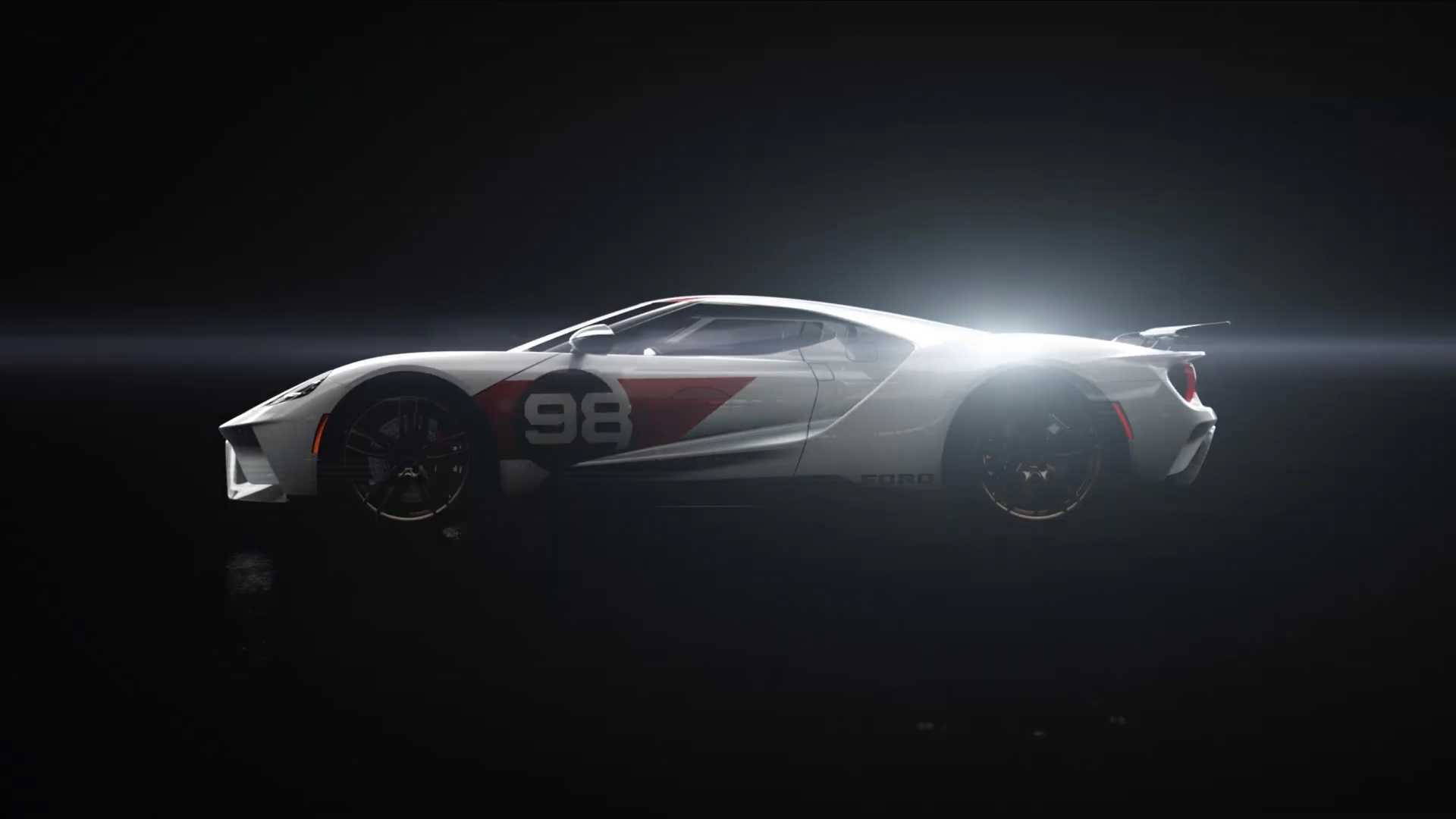 Ford Gt Heritage Edition Teased Reveal Set For Sunday