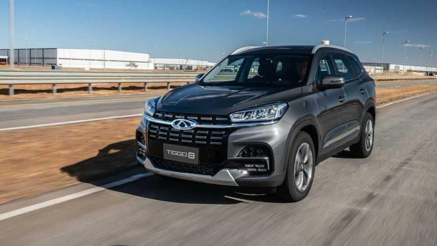 SUVs mais vendidos em março: Caoa Chery Tiggo 8 é vice-líder