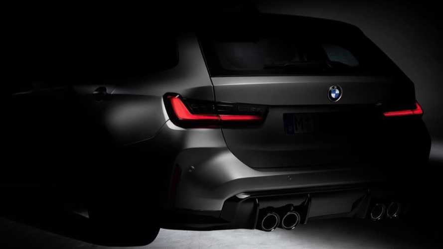 BMW M3 Touring estate, a first, teased on Instagram