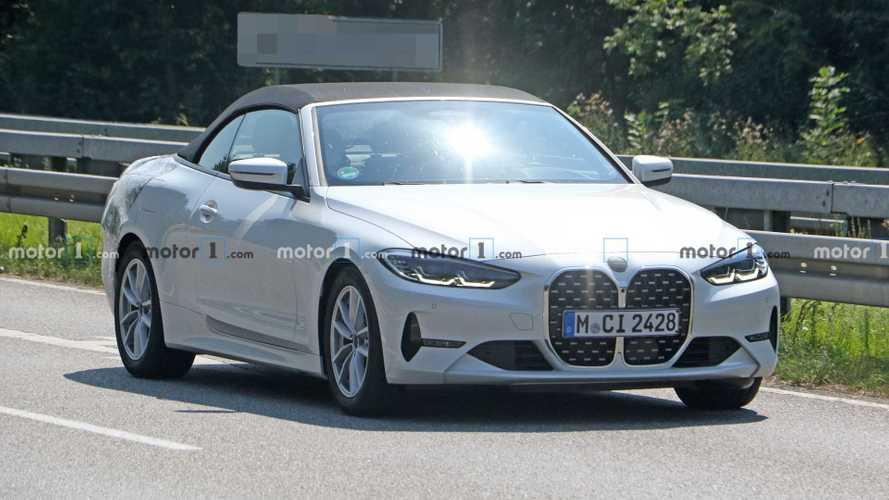 BMW 4 Serisi Convertible Casus Fotoğraflar