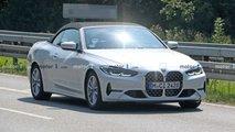 BMW 4er Cabriolet (2021) fast ungetarnt erwischt